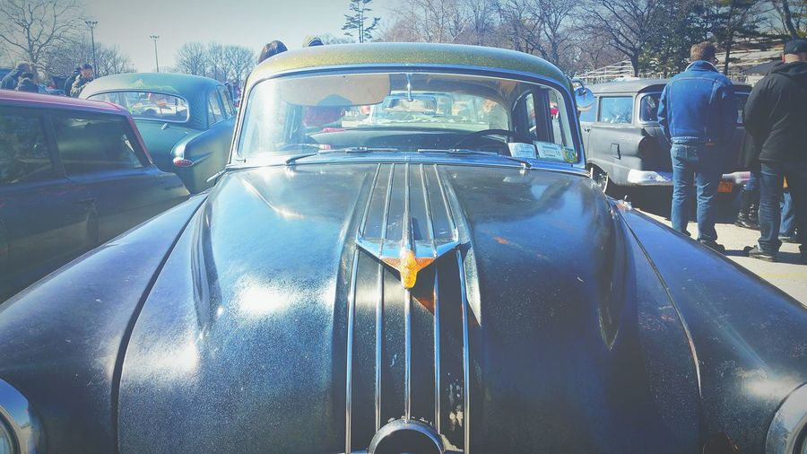 Car meet in Farmingdale, beautiful car :P Race Oldcars Carmeets Parkinglot