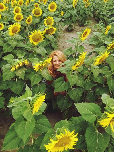 Leaf One Person Yellow Young Adult Looking At Camera Portrait Outdoors Smiling Nature Happiness Long Hair Beautiful Woman EyeEm Selects Women Of EyeEm Beautiful Women ♥ Sunflower EyeEm Best Shots - Nature Blond Hair Close-up