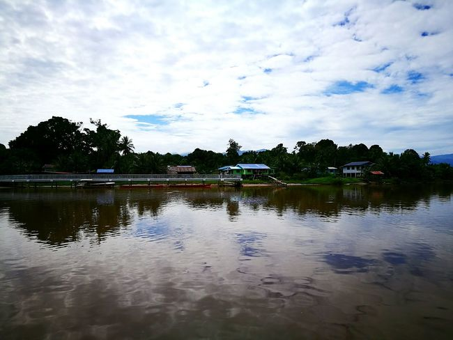 The beautiful Lawas River