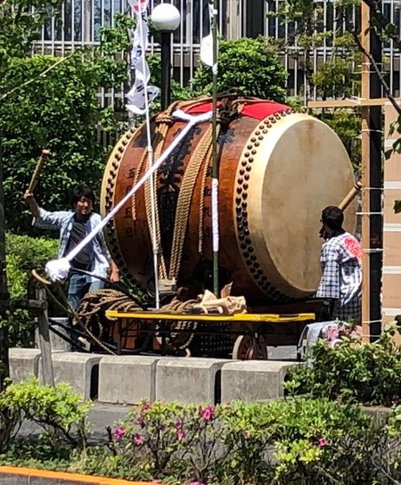 Fuchu-shi Japanese Drum Plant Real People Men Architecture Day Nature People