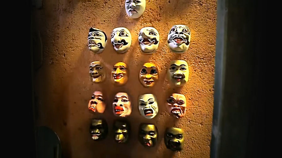 Mask Puppets Art Cultures Culture And Tradition Culture Of Indonesia History History Of Arts Historical Puppetry Mask Eyeem Art EyeEm 2018 Control Panel Full Frame Door Close-up