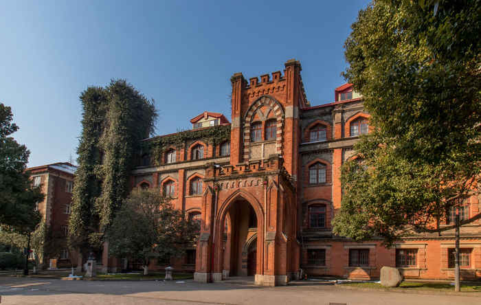 Soochow University Architecture History Travel Destinations Outdoors No People Built Structure Tree Sky Day