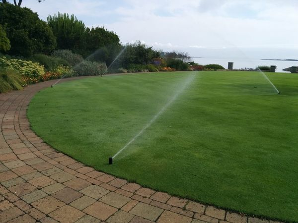 Another day working in paradise in Victoria... ? At Work Sprinklers Irrigation Landscape