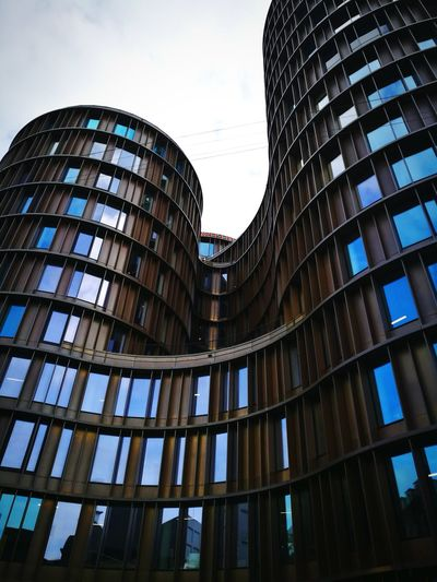 Architecture #curved Lines #wave Modern Built Structure Building Exterior