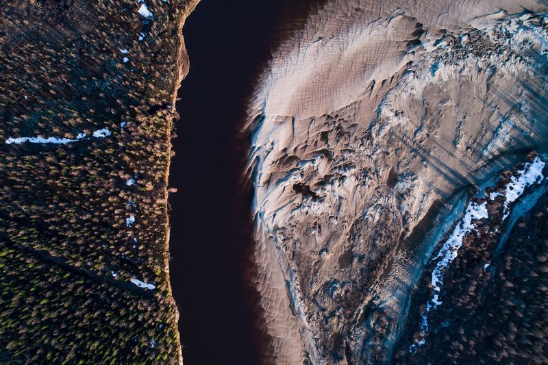 """Two coasts. Russia, siberia 2017. 