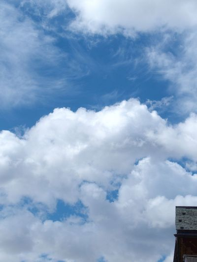 Beauty In Nature Blue Cloud - Sky Day Low Angle View Nature No People Outdoors Scenics Sky Tranquility