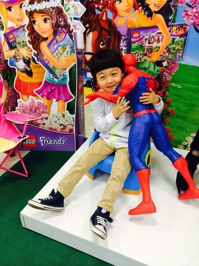 My Nephew Kid Spiderman Toy