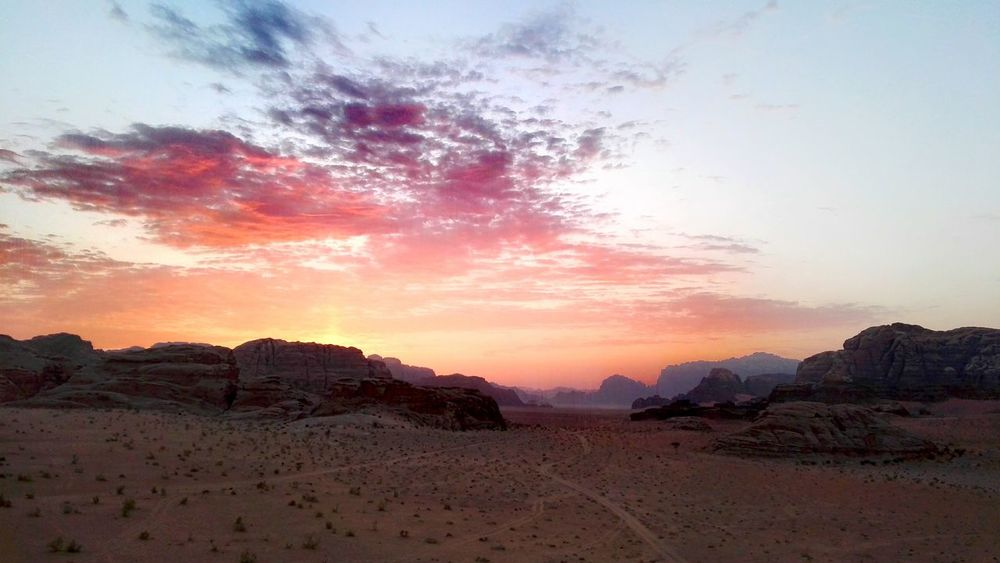 Smartphone Photography Hills And Valleys Desert Landscape Desert Desert Beauty Wadi Rum National Park, Jordan Subset
