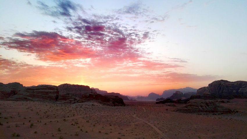 Smartphone Photography Hills And Valleys Desert Landscape Desert Desert Beauty Wadi Rum National Park, Jordan Subset