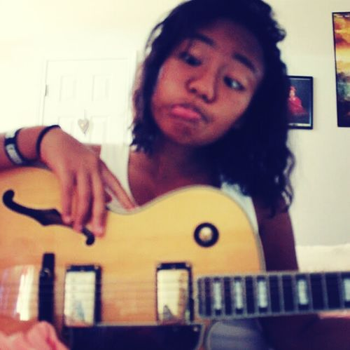 me and my friends guitar...