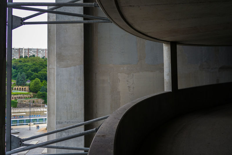 Abstract Arch Architectural Column Architectural Feature Architecture Building Built Structure City Column Confluence Day Empty Engineering Lyon Lyon Confluence No People Quick & Dirty Sky The Way Forward Urban Geometry Urbex Urbexphotography