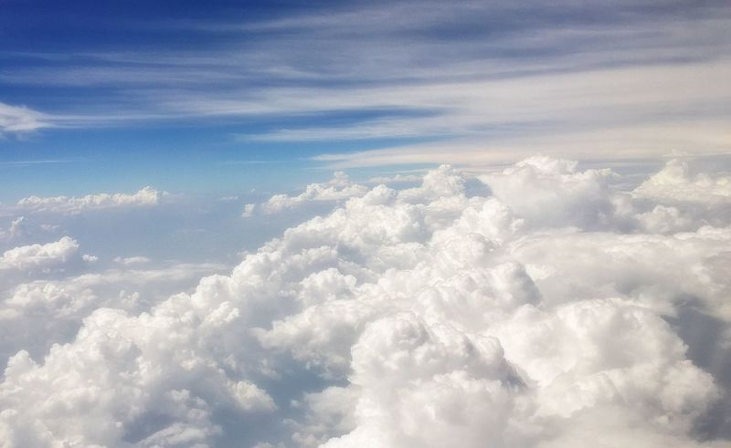 On The Sky On The Clouds Summer Sky And Clouds Summer Clouds Summer 2016 From An Airplane Window
