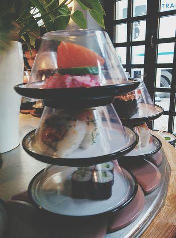 Sushi Having Lunch