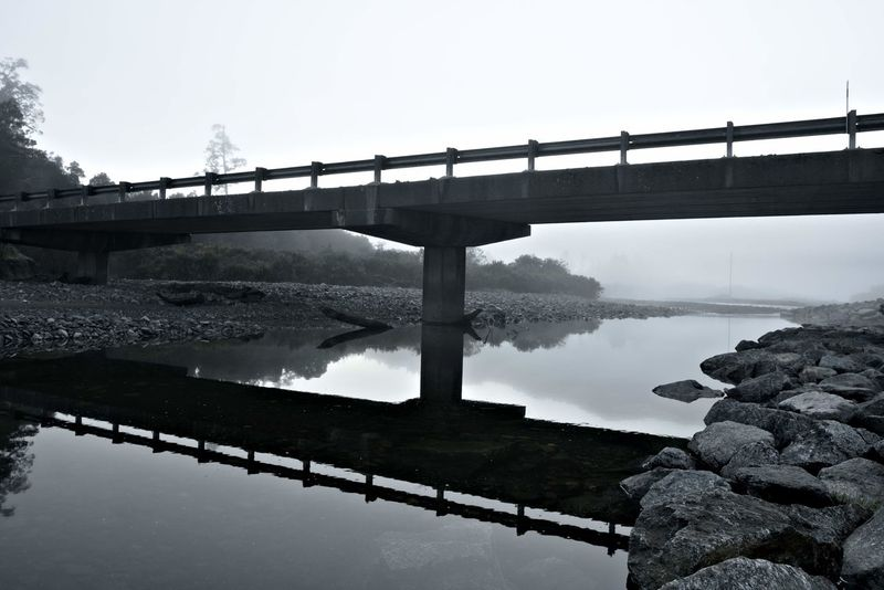 Mist Water Mist Morning Mist EyeEm Selects Bridge Morning Water Rural Scene Bridge - Man Made Structure Fog Photography Themes Business Finance And Industry Reflection Standing Water Sky Atmospheric Mood EyeEmNewHere