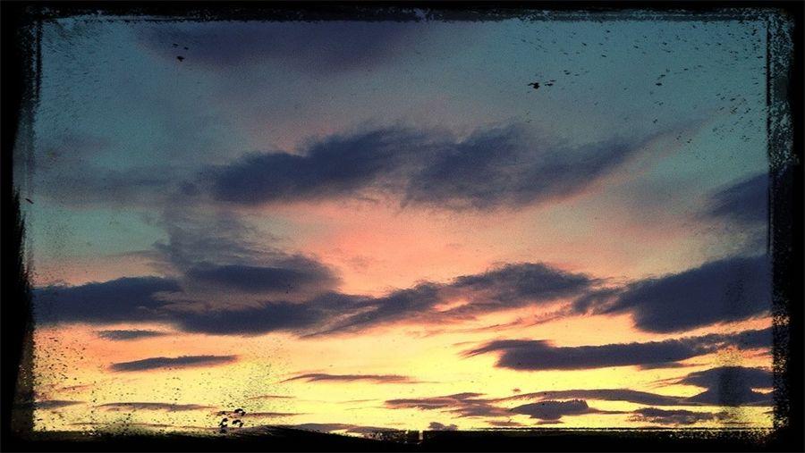 Changing night sky..