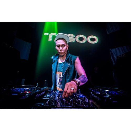 Drop it! @tabooexperience from the Blackeyepeas at Avalon Singapore Tabooexperience