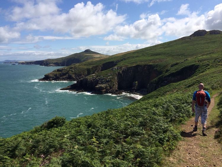 Pembrokeshire Coast Cliffs Sea