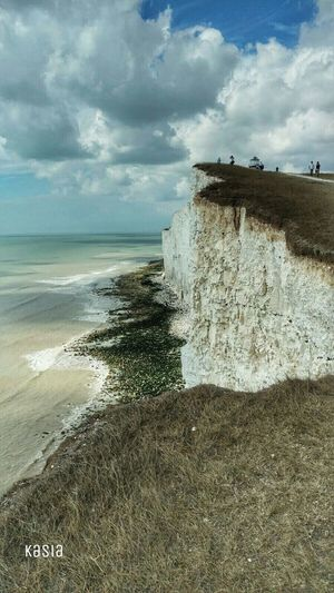 Phone Photography Seven Sisters Cliffs Sea Water Nature Beach