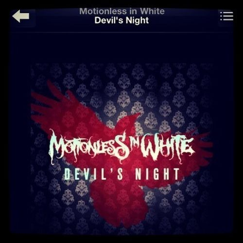 Band Motionless In White Devil's Night