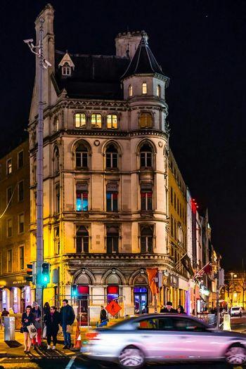 Dublin Night Photography Streetphotography Nightphotography City Life Traveling