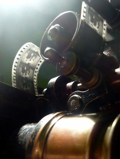 Old Projector MOVIE Celluloid