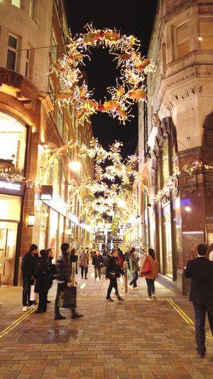 Architecture London Lights Night Christmas Miles Away