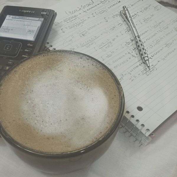 Calculus & ☕ Afternoon Coffee Coffee Calculus