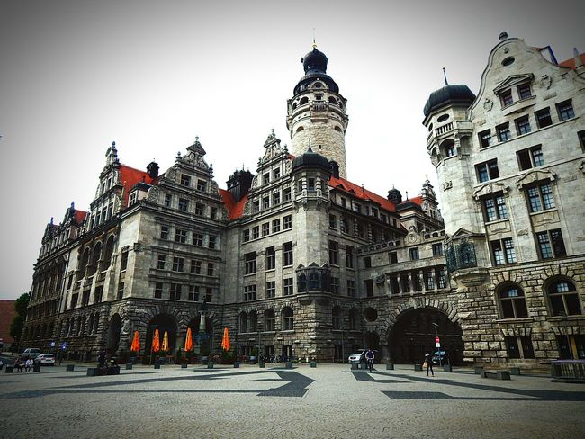hundret years, and still so beautyArchitecture Building Exterior Travel Destinations City Cloud - Sky Sky Leipzig The Way Forward History Outdoors Façade Day No People Medieval Cultures