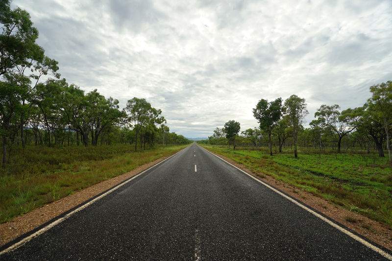 Captain Cook Highway, between Mareeba and Cooktown Highways&Freeways Cloud - Sky Cooktown Day Diminishing Perspective Highway Highwayphotography Highwayscape Landscape No People Outdoors Road Scenics Sky The Way Forward Tranquil Scene Tranquility Transportation