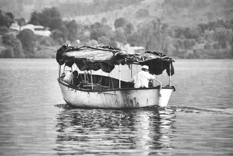 Nautical Vessel Transportation Togetherness People Day Outdoors Adult Only Men Adults Only Blackandwhite Panchgani, Maharashtra,india