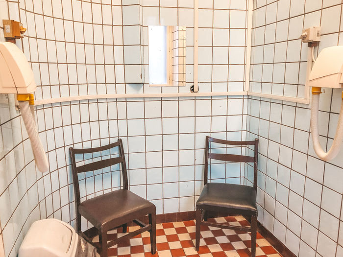 Public bath Tile Flooring Indoors  Bathroom Tiled Floor Architecture Wall - Building Feature No People Domestic Room Built Structure Pattern Absence Lighting Equipment Domestic Bathroom Household Equipment Hygiene Sink Toilet Home Seat Public Bath Budapest