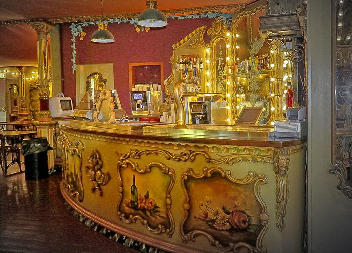 Antiek Antik Bar Design Indoors  Old Theke