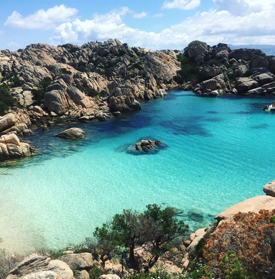 Queen beauty, Sardinia 2018 Beachphotography Naturelovers Nature Photography Summertime Italy Landscape View Italytrip Water Sky Cloud - Sky Beauty In Nature Nature Scenics - Nature Tranquility Sea Travel Destinations Outdoors