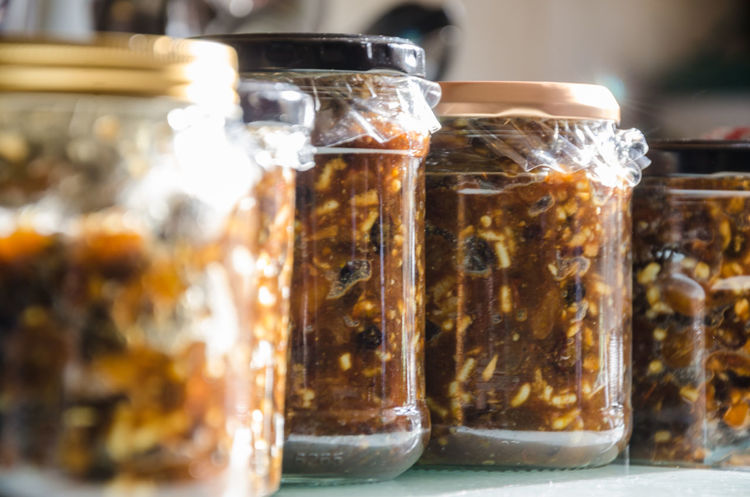 Homemade mincemeat Homemade Close-up Day Delicious Food Food And Drink Freshness Indoors  Jar Jars  Mincemeat No People Preserve Tasty