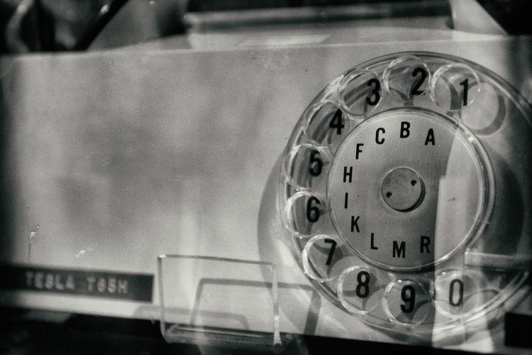 Circle Communicate Communication Old-fashioned Phone Retro Styled Technology Telephone