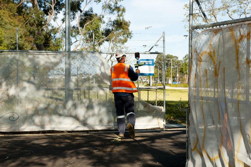 City Surveyor Australia City Perth Manual Worker Men Occupation Real People Surveyor