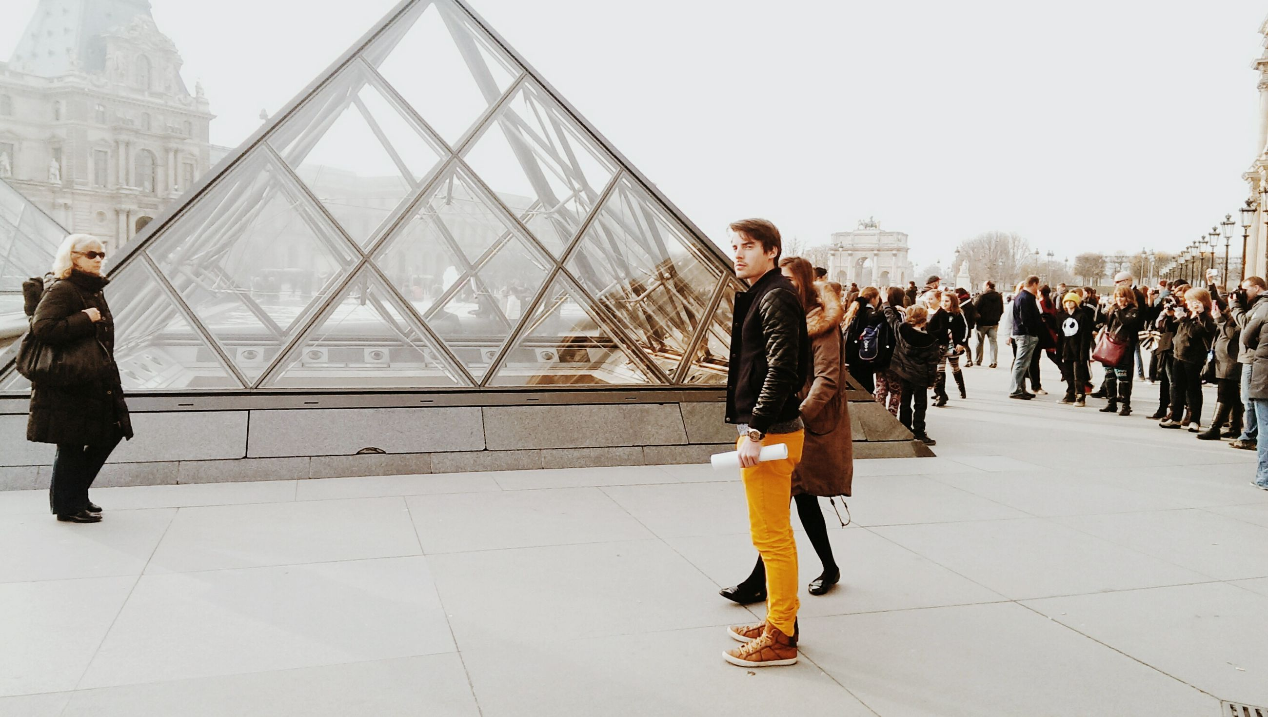 lifestyles, full length, person, architecture, leisure activity, built structure, casual clothing, men, standing, walking, city life, city, large group of people, rear view, travel, building exterior, indoors, tourism, young adult