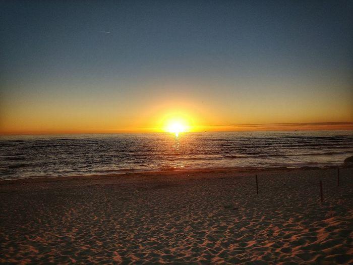 Water Sea Sunset Beach Sand Sunlight Summer Sun Wave Brightly Lit