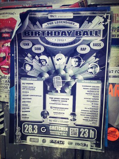 Birthday Ball