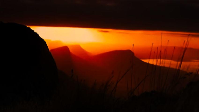 Sunrice Sun Sunshine Sunlight Mountain_collection Sunset Lava Heat - Temperature Sky Landscape Volcano
