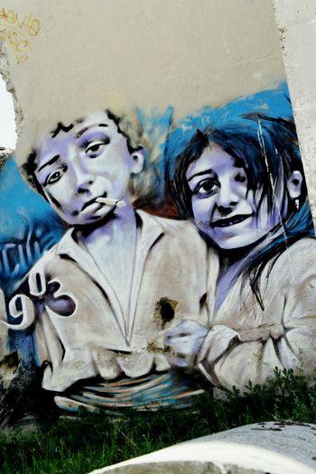 ¿infancia inocente? Depende de que casos That's Me Graffiti Art PicturePerfect BuenDibujo Calle Street Photography