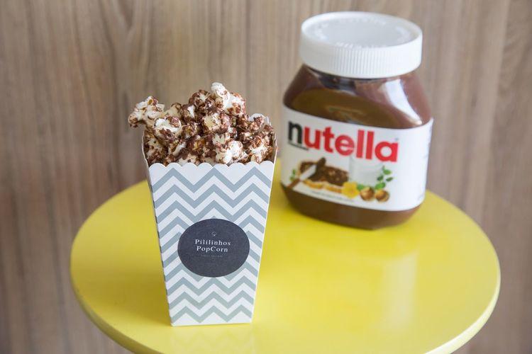 Pipoca Pipocagourmet Nutella Nutella ♥ Pipocadenutella Food Comida