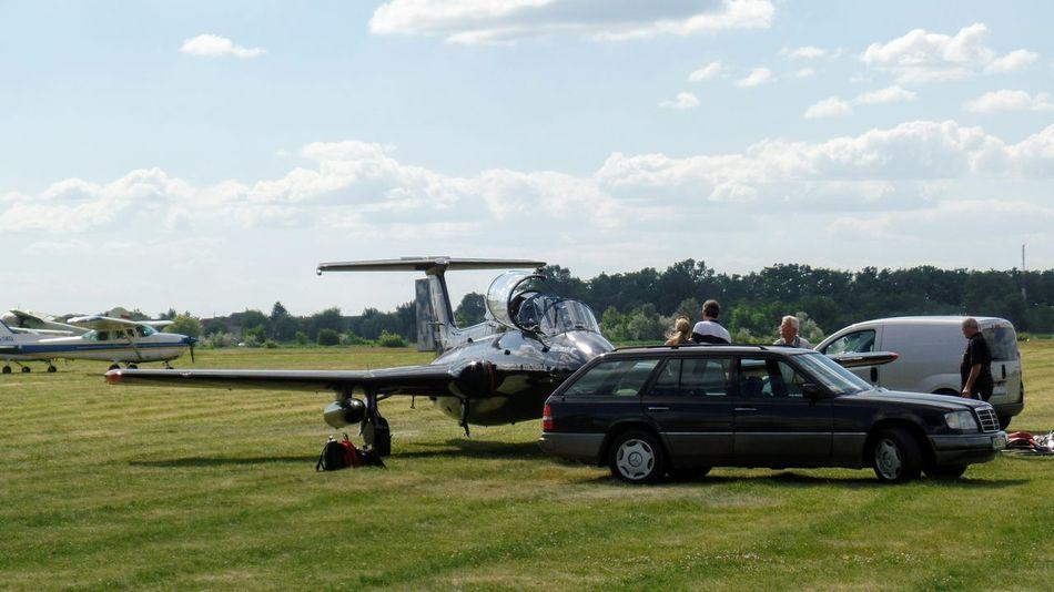 Air Vehicle Airplane Battle Cloud - Sky Day Fly Grass History Legendák A Levegőben No People Outdoors Samsung Samsungphotography Sky Summer Transportation