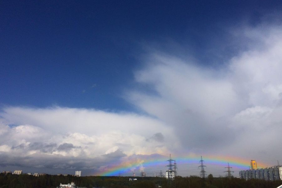 Today the weather changes from rainy to sunny, from sunny to snowy 🌨☀️🌧🌈🌦 Sky Cloud - Sky No People Scenics Outdoors Nature Beauty In Nature Multi Colored Blue Day Rainbow Rainbow Colors Rainbow Sky Rainbow🌈 Sky And Clouds Sky_collection From The Car Window IPhoneography