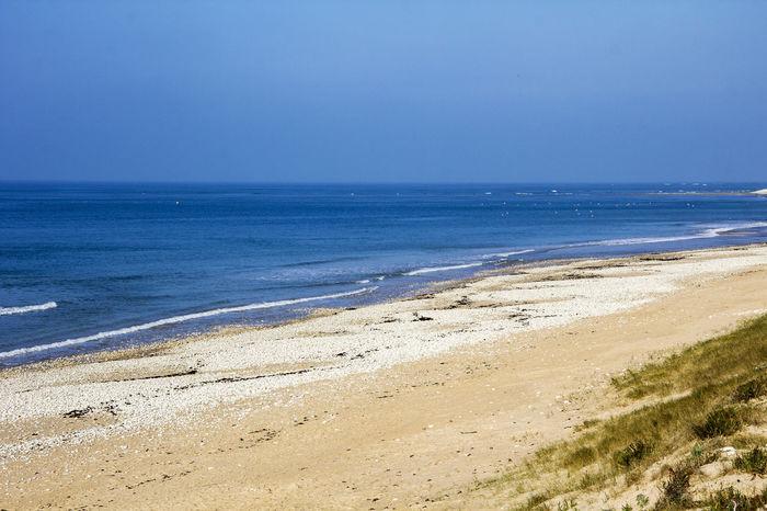 Atlantic Ocean Beautiful Beach Champignon Chassironant Chassironantio Kite Surfing Mushrom Pharehouse Sand