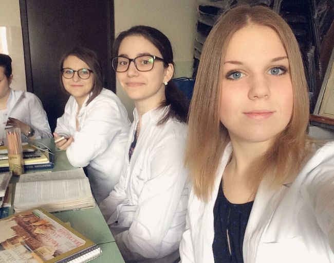 Недоврачи:) Studying Medical Student Medical Military Academy Girls