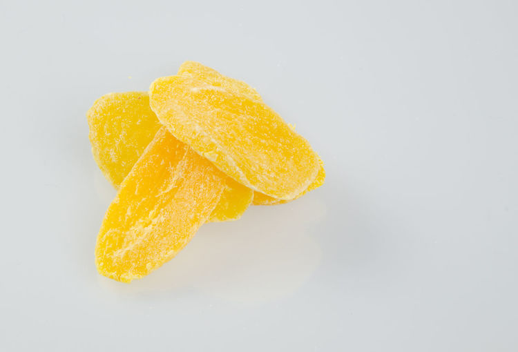 Close-up Crunchy Day Food Food And Drink Freshness Fried No People Potato Chip Sour Taste Studio Shot White Background Yellow