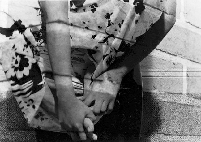 """Brickface Series"" Kesi J. Marcus Blackandwhite Brick Brickface Close-up Delaware Dress Film Flowers Hand Indoors  Nature Noface Outdoors Personal Perspective Photography Selfportrait Series 10"