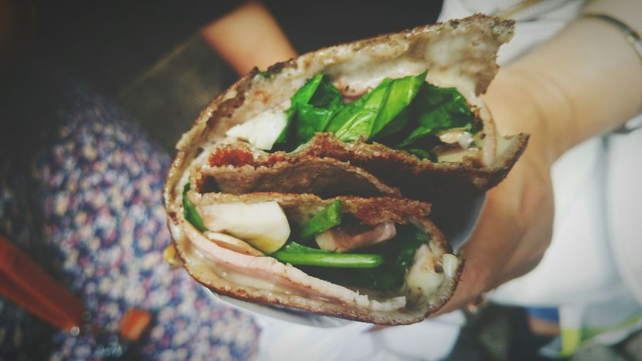 Sharing Is Caring Food Fanatic Wrap It Up A Bird's Eye View