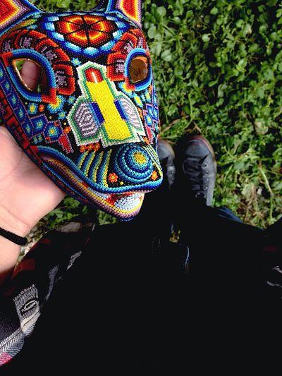 Cuetlaxcoyotl Huichol Mascara Wirikuta First Eyeem Photo